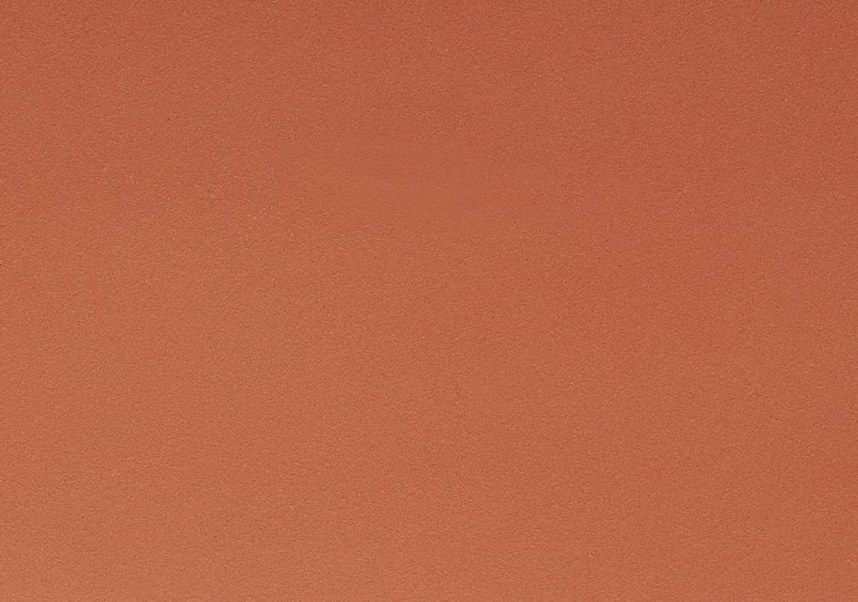 Tonality Keramikfassade Farbe Ziegelrot Natur.